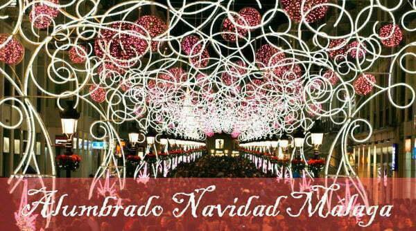 Inauguración Alumbrado Navidad Málaga