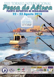 Cartel Pesca de Altura 2015 low